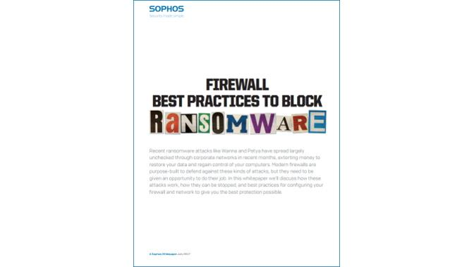 Firewall Ransomware Sophos WP