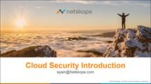 PPT Cloud - Netskope