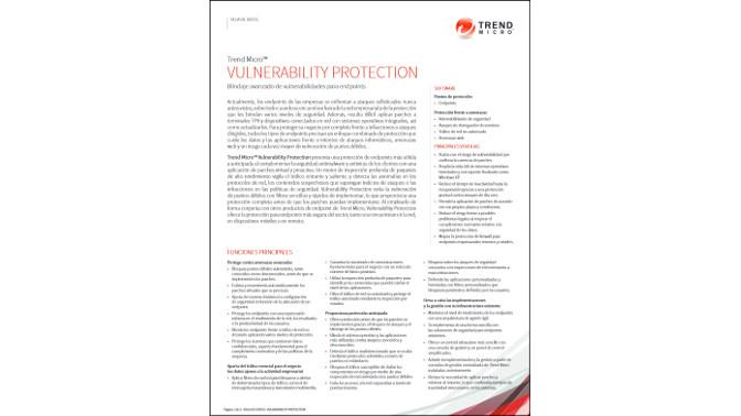 Trend Micro Vulnerability Protection
