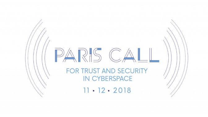 Paris Call Cyberspace