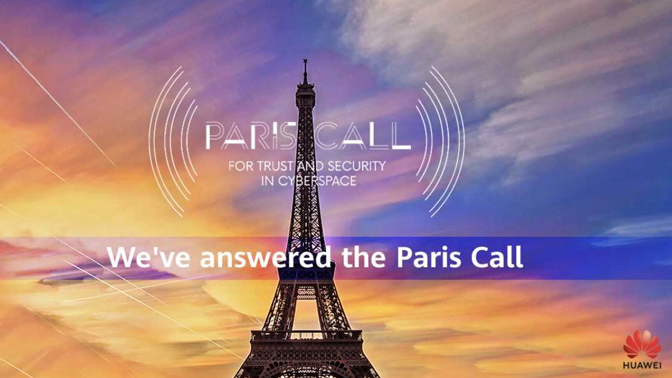 Huawei Paris Call